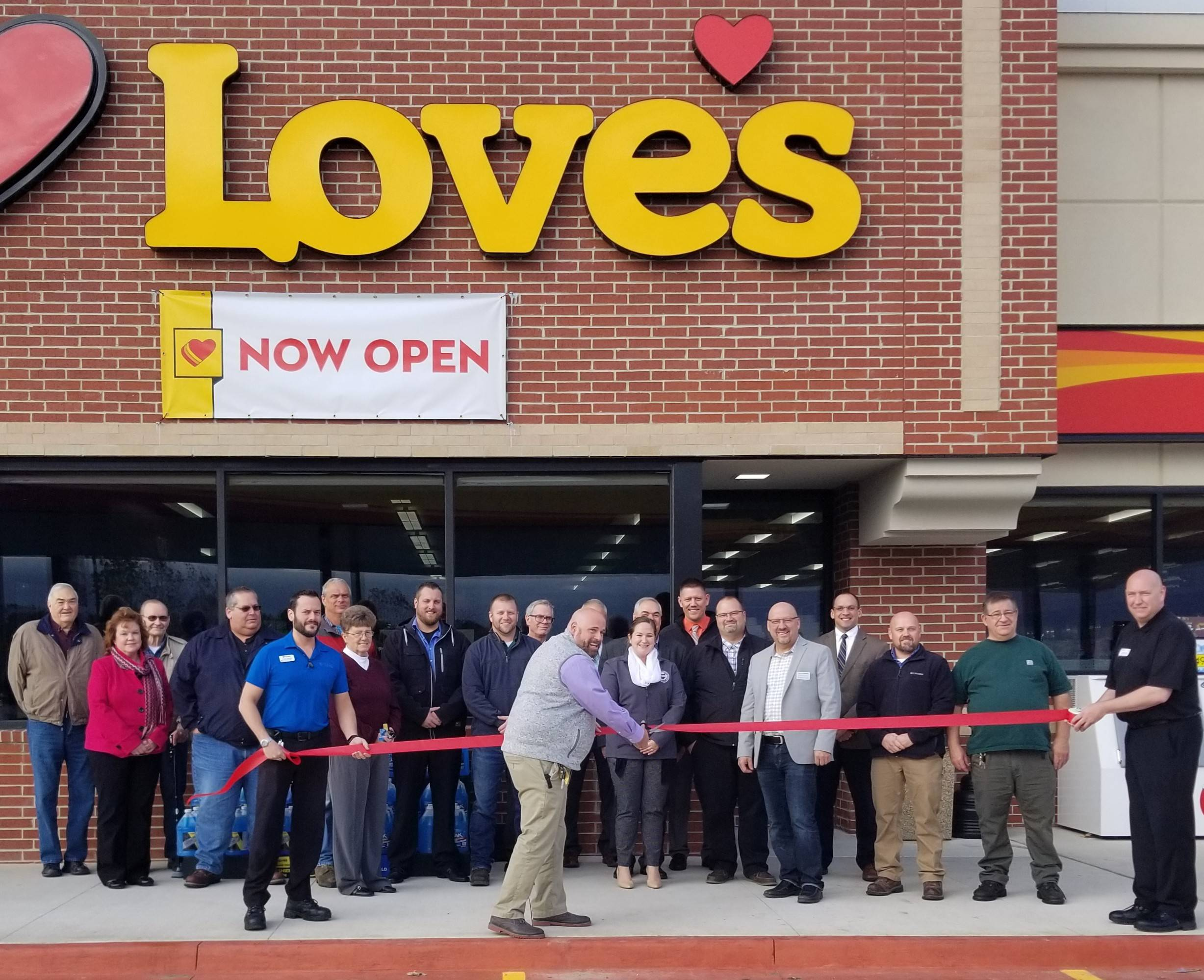 Love's Travel Stop & Country Store Opens At Full Throttle North Of Edon - The Village Reporter